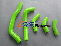 Wholesale radiator hoses resale online - silicone radiator hose FOR HONDA CRF450R CRF R GREEN