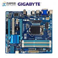 Wholesale gigabyte motherboard i3 for sale - Group buy Gigabyte GA H77M D3H Desktop Motherboard H77M D3H H77 LGA i7 i5 i3 DDR3 G SATA3 USB3 VGA DVI HDMI PCI E Micro ATX