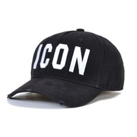 Wholesale Top selling ICON Mens Design hats Casquette d2 luxary embroidery adjustable Icon hat new color behind letters