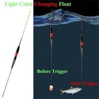 balık gece ışıkları toptan satış-3 ADET Akıllı Balıkçılık Şamandıra Gece Aydınlık Balıkçılık Yüzen Led Işık Otomatik Olarak Yeni Aksesuarları Hatırlatmak 40Ju14