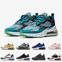 nuevas zapatillas de deporte calientes al por mayor-nike air max 270 React EPIC Travis Scott x 27C React 2019 Reacts BAUHAUS ISPA Phantom Summit Blanco Azul Lagoon OPTICAL JADE Zapatos de diseñador para hombre Tenis Tamaño 36-46