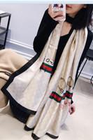 grand foulard en soie à fleurs achat en gros de-2019 Marque Soie Foulard Femmes Été plage Long Châle Printemps et Automne Lady Élégant Hijab Wraps écharpes grande taille 180X90CM