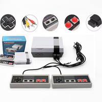 Wholesale arcade video games consoles resale online - 620 Game Console Video Mini TV Can Store Handheld For NES Games Consoles With Retail Boxes Good Quality