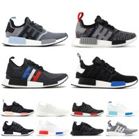 9cae2094f 2019 NMD XR1 Primeknit Running Shoes Triple Black Vintage White Men Women  Sport Sneakers Trainer Designer Shoes With Box 5-11