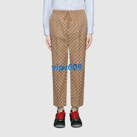 pies femeninos coreanos al por mayor-De gama alta, mujeres, sección delgada, pantalones deportivos, pantalones de impresión de letras femeninas, pantalones casuales, pantalones harem, pantalones pantalones casuales, versión coreana
