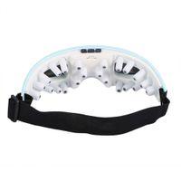 hava cihazları toptan satış-Kablosuz Elektrikli Gözler Masaj Makinesi Isıtma Terapisi Hava Basıncı Müzik Göz SPA Gözler Stres Giderici Bakım Cihazı Sağlık