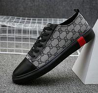scarpe casual pular nuove scarpe da tendenza sneaker estate versione  coreana scarpe da uomo in pelle moda low-top 89d3594f00b