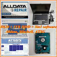 Wholesale alldata repair software installed laptop resale online - Alldata m itchell on demand ATSG in1tb hdd installed well used laptop D630 g for Auto repair diagnosis program