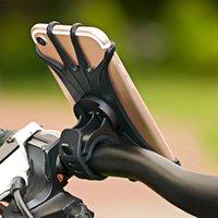 suporte de bicicleta venda por atacado-Bicicleta para o Iphone Xs Max 7 Samsung Universal motocicleta Phone Holder Bicicleta Guiador stand Prova Suporte Gps Preço mais baixo pricelow