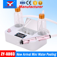 máquina de peeling aqua al por mayor-Mini Aqua Hydra Peel Equipment Hydro Dermabrasion Facial Spa Machine Agua al vacío Peeling Hydrafacial Beauty Equipment