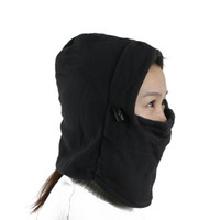 Wholesale motorcycle thermal masks for sale - Group buy Thermal Balaclava Hat Hood Ski Bike Wind Stopper Face Mask New Caps Neck Warmer Winter Fleece Motorcycle Neck Helmet Cap