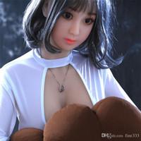 muñecas del sexo masculino de cuerpo completo al por mayor-muñecas del sexo del cuerpo real de la muñeca del sexo japonesa 158cm de silicona muñeca atractiva completa realistas de tamaño natural amor masculino realista para los juguetes del sexo