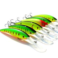 Wholesale long tongue lures for sale - Group buy 2Pcs Long tongue Minnow Fishing Lure g cm Hard Bait Floating Crankbait Pesca Topwater Wobblers fish Fishing Tackle