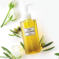 Wholesale free olive oil resale online - 2019 Brand olive Deep Cleansing oil ml makeup remover oil soft for eyes lips DHL free ship