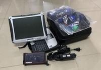 kabel-scanner reparieren großhandel-schwere lkw reparatur Diesel lkw-diagnosewerkzeug mit pc cf19 touchscreen laptop voller kabel scanner