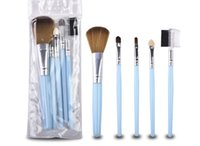 Wholesale travel makeup brush kit for sale - Group buy Hot Travel Portable Mini Eye Makeup Brushes Set for Eyeshadow Eyeliner Eyebrow Lip brues Make Up Brushes kit DHL