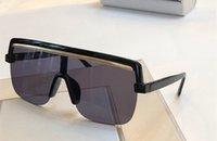 boncuklu üstler toptan satış-POSE Yeni Kadın Lüks güneş gözlüğü Metal flaş boncuk tasarım Basit atmosfer gözlük kutusu ile gel en kaliteli UV400 koruma