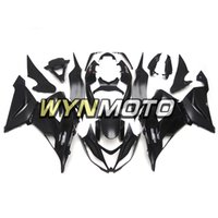 kawasaki ninja zx 14 großhandel-Mattschwarz NINJA ZX6R 13-17 Vollverkleidung für Kawasaki ZX-6R 2013 2014 2016 2016 2016 Ninja ZX-6R 13 14 15 16 17 Motorrad-Karosserie-Kits