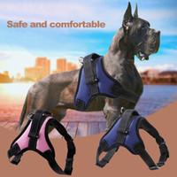 Wholesale black xl dog collar resale online - 1PC S M L XL Adjustable Soft Dog Harness Nylon Vest Harness for Dogs Puppy Collar Cat Pet Dog Chest Strap Leash Dogs Supplies