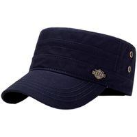 Flat Top Baseball Cap Men Women Adjustable Sunshade Portable Hat Head Wear Sportswear Accessories
