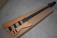 Wholesale one piece string bass for sale - Group buy Thunderbird Classic IV burlywood Electric Bass guitar Custom one piece set neck Strings Bass Guitar