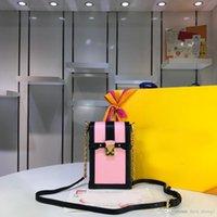 mobiltelefone beschränkt großhandel-5A Mini New VANITY Canne Luxus-Modedesigner Handytasche Global Limited Edition Designer Luxus-Handtaschen Geldbörsen Leder: M63913