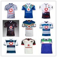 бесплатная доставка nz оптовых-2019 2020 Новая Зеландия Окленд трикотажные изделия для регби 18 19 20 высокое качество 9S мужчины рубашки регби NZ рубашки бесплатная доставка