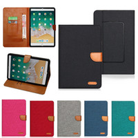 Wholesale inch phone tablet cases for sale - Group buy Universal Wallet Card Slot Flip Stand PU Leather Tablet Phone Case For iPad mini iPad Samsung inch Tablet