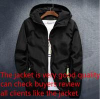 yüksek markalı giyim ceketi toptan satış-Erkekler Sportwear Giyim Yüksek Kalite İçin Mektupları WINDBREAKER Fermuar Hoodies ile Lüks Erkek Tasarımcı ceketler Coat Moda Marka Kapşonlu Ceket