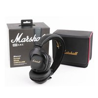 Wholesale earphone wireless mp4 for sale - Group buy Marshall Mid ANC Headphones Active Cancelling Earphones with Bluetooth Sports Deep Bass DJ Hifi Wireless Stereo On Ear Headset DHL