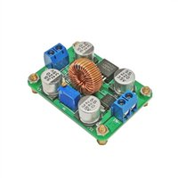 повышение платы оптовых-2шт DC-DC boost module/30W adjustable boost board/LM2587 high power 5A / beyond lm257