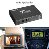 receptor de tv móvel para automóvel venda por atacado-Freeshipping Caixa de TV Digital de Carro HD ISDB Full Seg Receptor ISDB-T Mini Receptor de TV Digital Móvel para Carro para o Japão