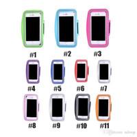ingrosso braccio per telefono-Per Iphone 6/7 / 6s / 7 Plus Sport Impermeabili In Esecuzione Bracciale Bracciale Allenamento Bracciale Supporto Pouch Cell