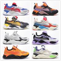 mavi sistemler toptan satış-Erkekler Kadınlar RS-X Yeniden Teşvik Koşu Sistemi Beyaz Siyah Mavi Kırmızı Sarı Baba Ayakkabı Atletik Moda Sneakers Koşu Spor Ayakkabı