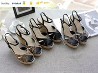 Wholesale sandal material for sale - Group buy 2031 embossed special material wedge sandals Casual Handmade Walking Tennis Sandals Slippers Mules Slides Thongs