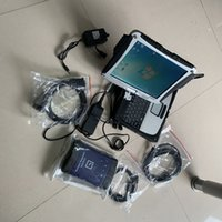 Wholesale gm professional tools for sale - Group buy g m mdi diagnostic tool wifi professional scan tool interface with laptop cf19 touch screen pc ready to use