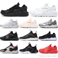 erkekler için huarache toptan satış-Nike air max Çorap ile moda Huarache 4.0 1.0 Klasik Üçlü Beyaz Siyah erkek kadın Huaraches Ayakkabı spor Sneakers Koşu Ayakkabıları mens eğitmenler 36-45