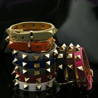 ingrosso braccialetto di cuoio nodo-