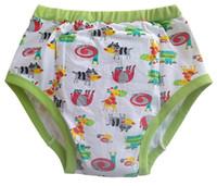 tela de rana al por mayor-Impreso rana adulta pantalón de aprendizaje / abdl pañal de tela / adulto amante del pañal del bebé / Calzoncillos