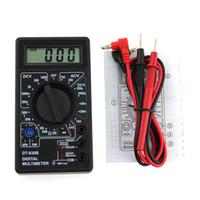 Wholesale digital dc amp meter display resale online - LCD Display Digital Multimeter AC DC V Amp Volt Ohm Meter Tester HYD88