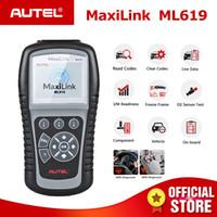 Wholesale obd scanner autel for sale - Group buy Autel Maxilink ML619 OBD2 Scanner ABS SRS CAN OBDII OBD Code Reader Car Auto Diagnostic Tool PK AL619 Free Update Lifetime