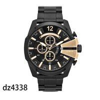 mostrar reloj deportivo al por mayor-2019 marca de relojes de lujo Sport militar montres mens nuevo reloj original dial grande pantalla relojes dz relojes dz7331 DZ7312 DZ7315 DZ7333