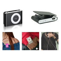 Wholesale candy mp3 player for sale - Group buy Portable Mini Metal Clip MP3 Player with Candy Colors No Memory Card Sport mm Music Player with TF Slot Earphone USB Cable
