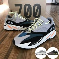 Wholesale best summer hiking shoes for sale - 700 Runner New Kanye West Mauve Wave Mens Women Athletic Best Quality s Sports Running Sneakers Designer Shoes With Box