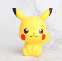 Wholesale model kids for sale - Group buy 4 Styles Pikachu Cake Decoration Hand Doll Micro Landscape Model Car Accessories Kids Pikachu Action Figures L097