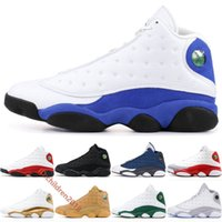 Wholesale outdoor shoes cat for sale - Group buy 13 s Men Royal Basketball Shoes Hyper Neutral Grey Altitude Ray Allen Pe Black Cat Chicago Defining Moments Outdoor Sneakers Size