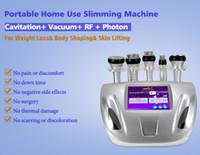 Wholesale ultrasonic rf vacuum bipolar tripolar cavitation resale online - HOT K Ultrasonic liposuction cavitation slimming machine tripolar sixpolar bipolar vacuum RF machine cavitation slimming machine shape