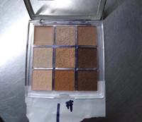 высокая пигментная тени для век оптовых-Палитры для макияжа глаз Backstage Палитра теней для век Профессиональное исполнение 9-цветный матовый Mult-Finish High Pigment Eyeshadow