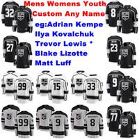Wholesale kovalchuk jersey for sale - Group buy Los Angeles Kings Jerseys Adrian Kempe Jersey Trevor Lewis Blake Lizotte Ilya Kovalchuk Matt Luff Hockey Jerseys Womens Customize Stitched