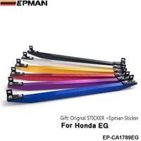 SUB-FRAME LOWER TIE BAR REAR FOR HONDA CIVIC 1988-1991 1992-1995 EG EF DA DG with BEAKS Sticker red,silver golden,purple,blue EP-CA1789EG